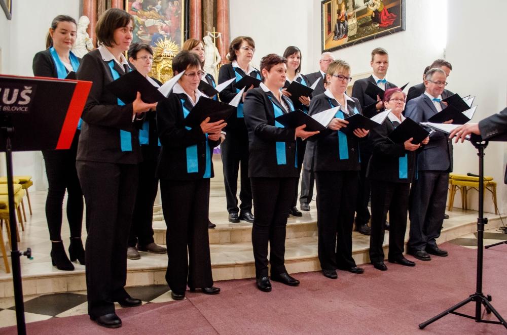 Velké Bílovice, Adventní koncert, Luboš Řehánek, Chrámový sbor z Velkých Bílovic, ZUŠ Velké Bílovice